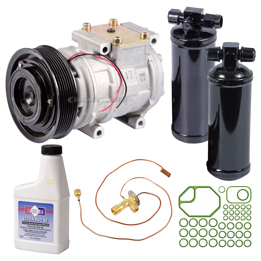 1994 Land Rover Defender A/C Compressor and Components Kit