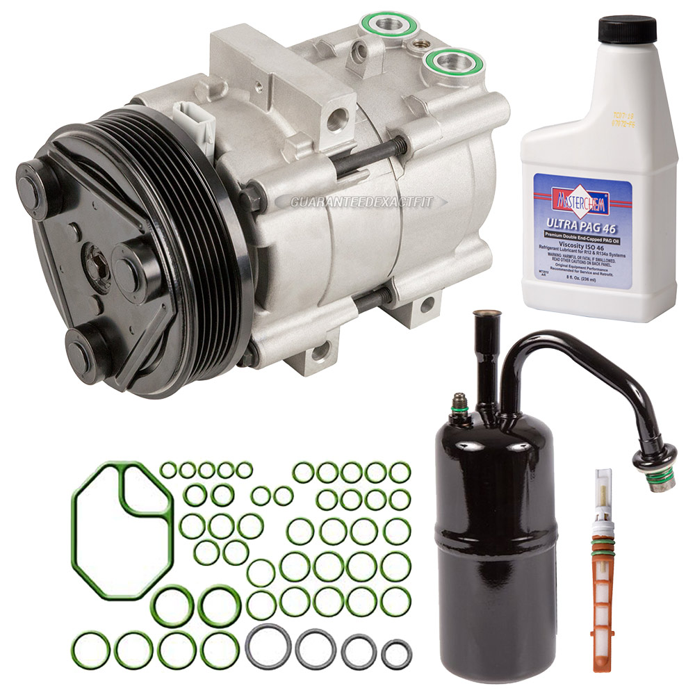 Ac Compressor And Components Kits For Ford Contour Mercury Cougar Wiring Harness 1999 Mystique A C Kit
