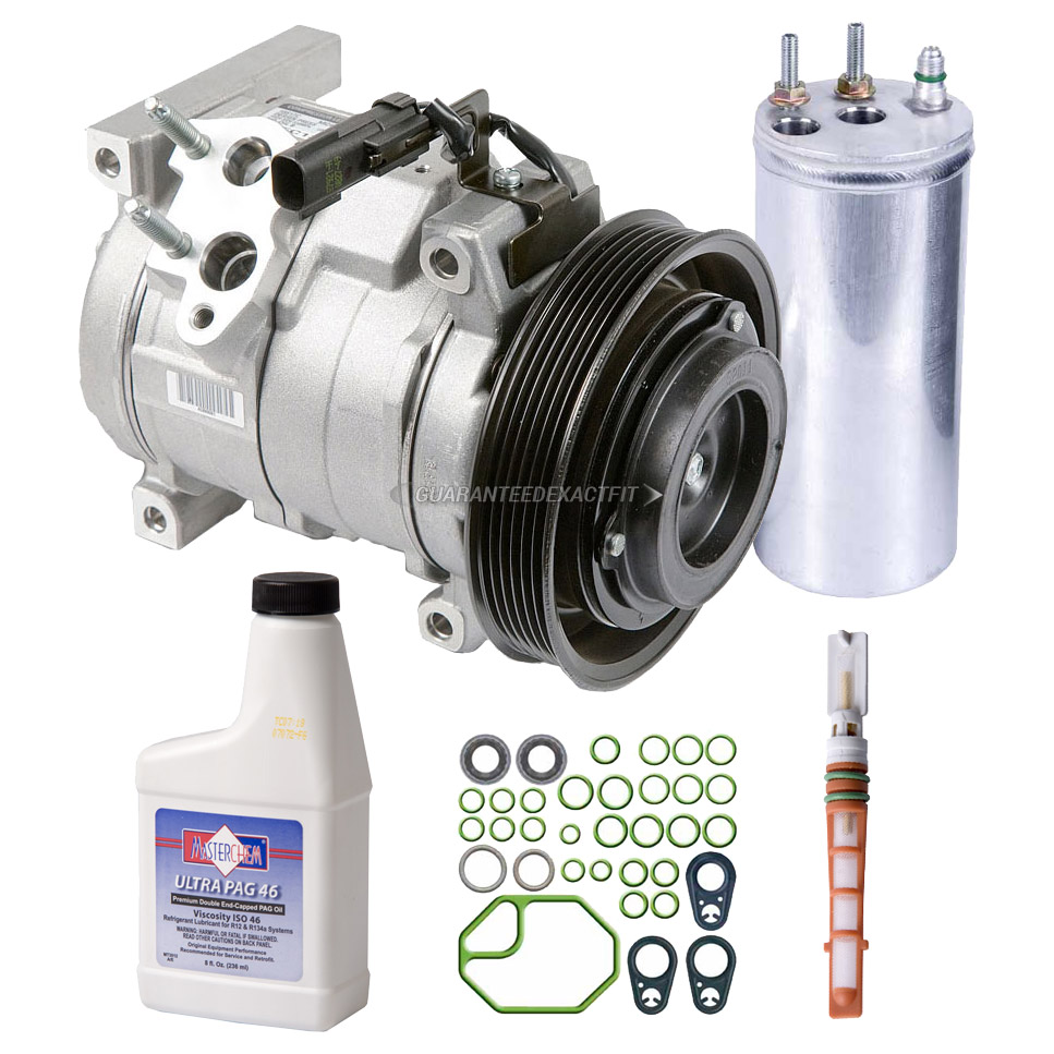 Ac Compressor And Components Kits For Jeep Wrangler 2003 2006 24l Wiring Harness Gallery Of Cars Accessories A C Kit