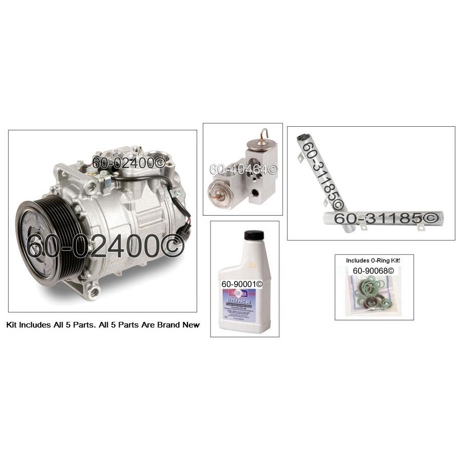 Mercedes Benz R320 A/C Compressor and Components Kit