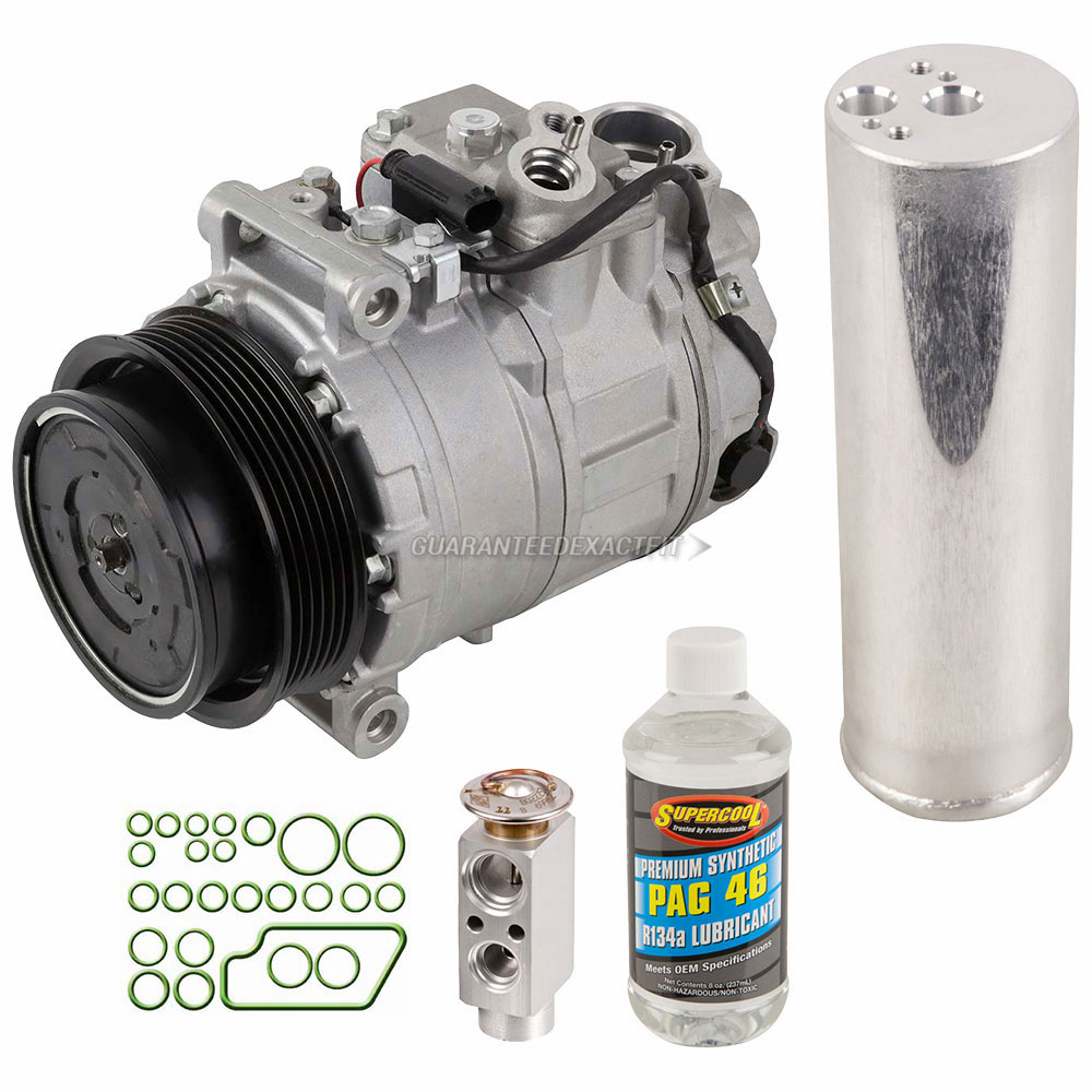 2001 Mercedes Benz S55 AMG A/C Compressor and Components Kit