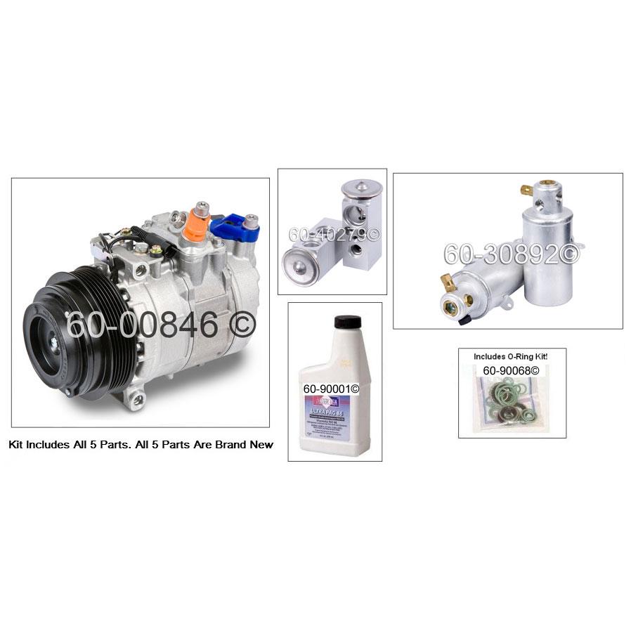 Mercedes_Benz S320 A/C Compressor and Components Kit