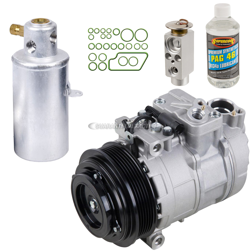Mercedes Benz CL500 A/C Compressor and Components Kit