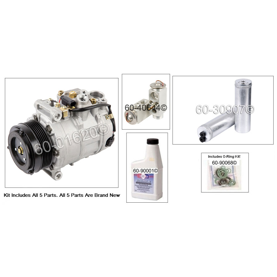 Mercedes_Benz CL55 AMG A/C Compressor and Components Kit