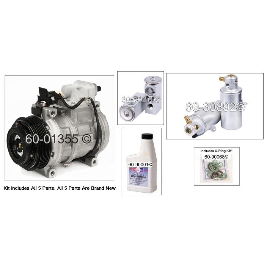 Mercedes_Benz S350 A/C Compressor and Components Kit