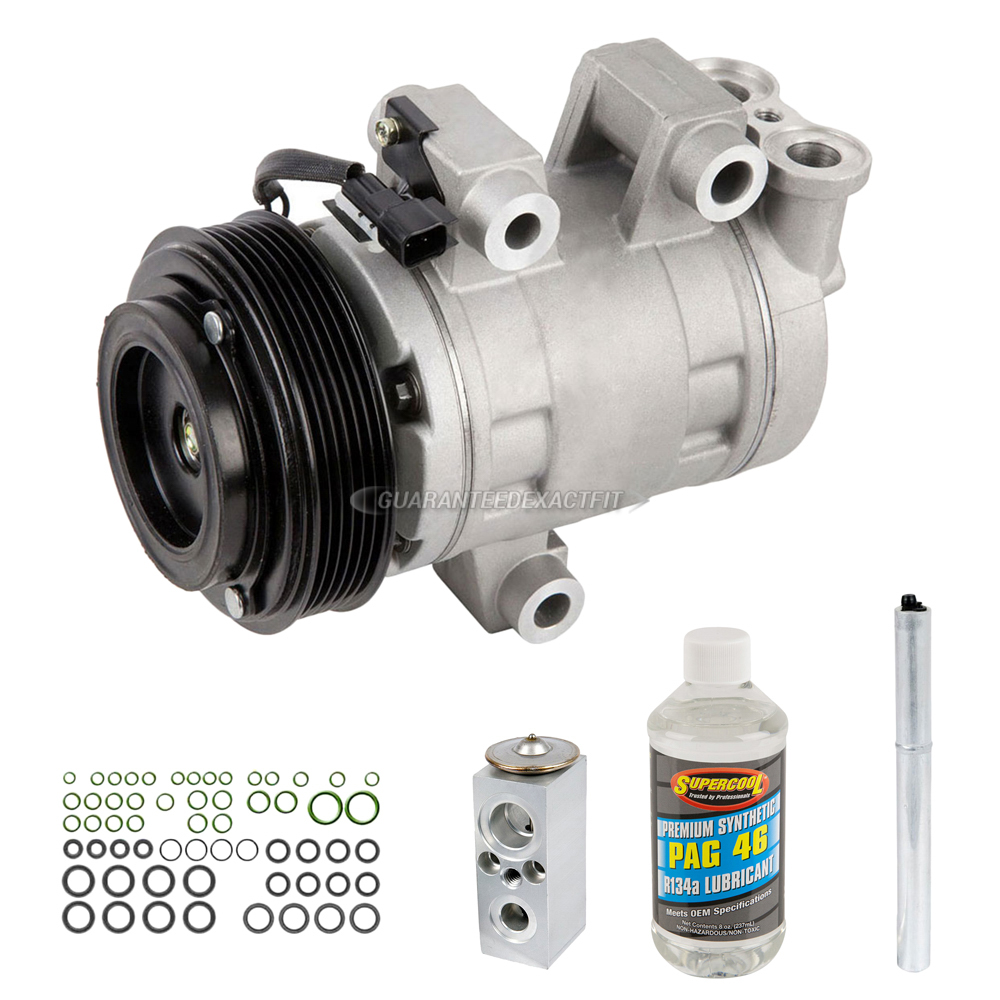 Pontiac Torrent AC Compressor and Components Kit - OEM & Aftermarket