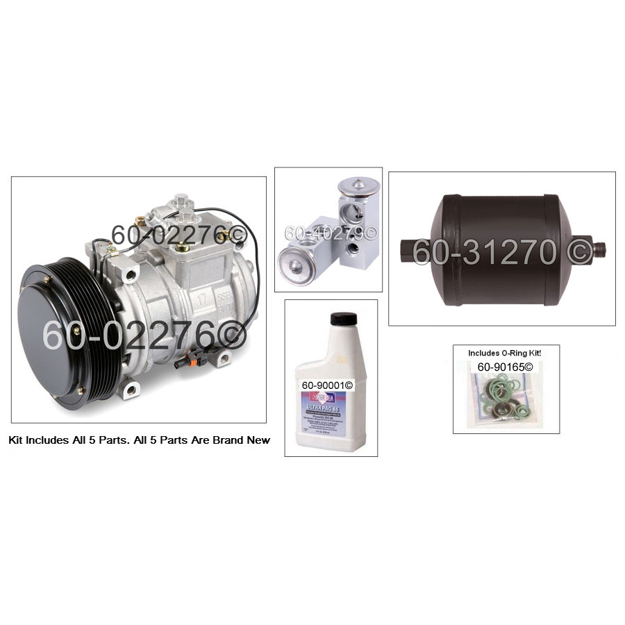 A/C Compressor and Components Kit 60-81356 RK