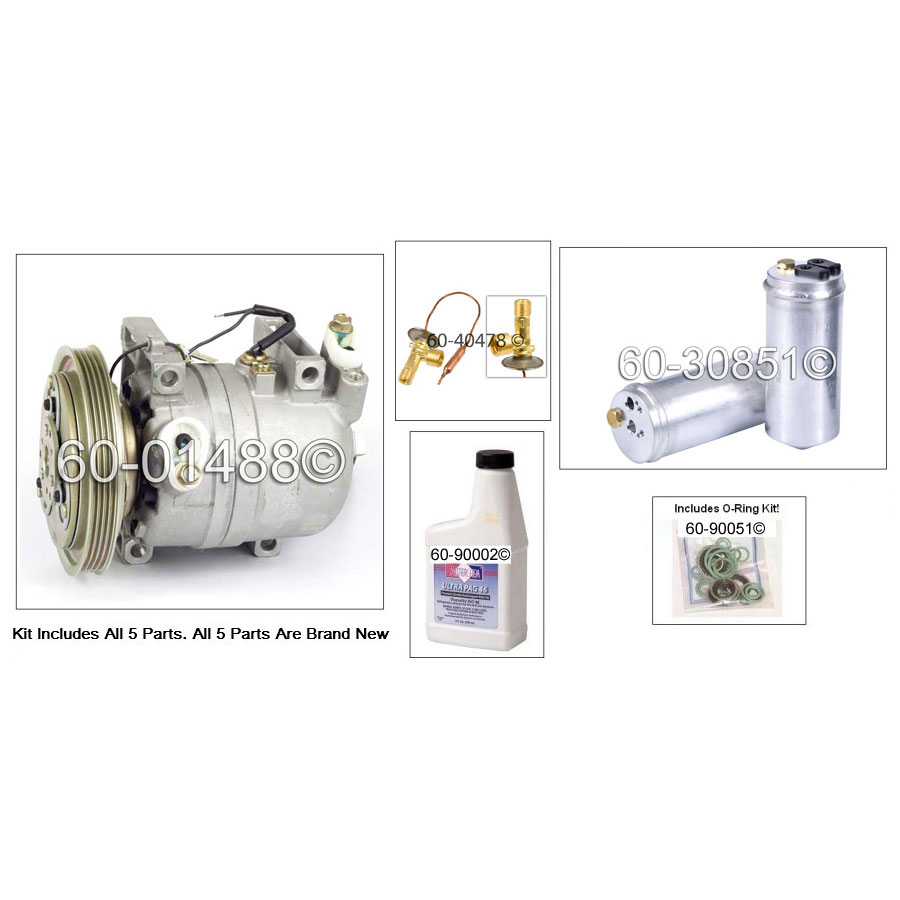 A/C Compressor and Components Kit 60-81358 RK