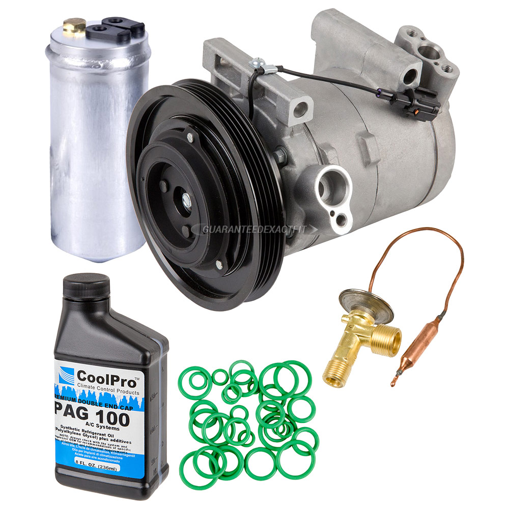 2002 Nissan Frontier: 2002 Nissan Frontier A/C Compressor And Components Kit 3