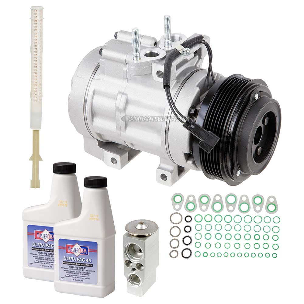 2008 Ford Expedition A/C Compressor and Components Kit