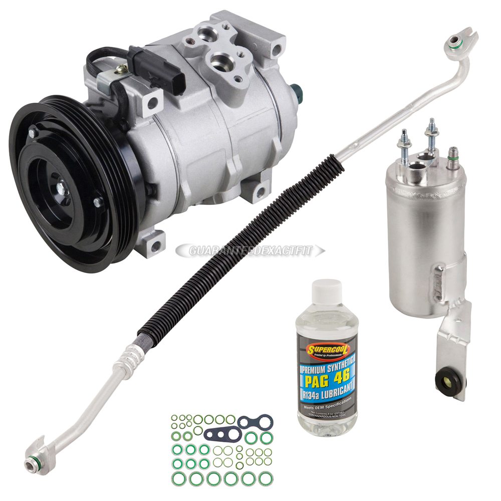 Chrysler Pt Cruiser Ac Compressor And Components Kit Oem 2007 Chysler Fuel Filter A C
