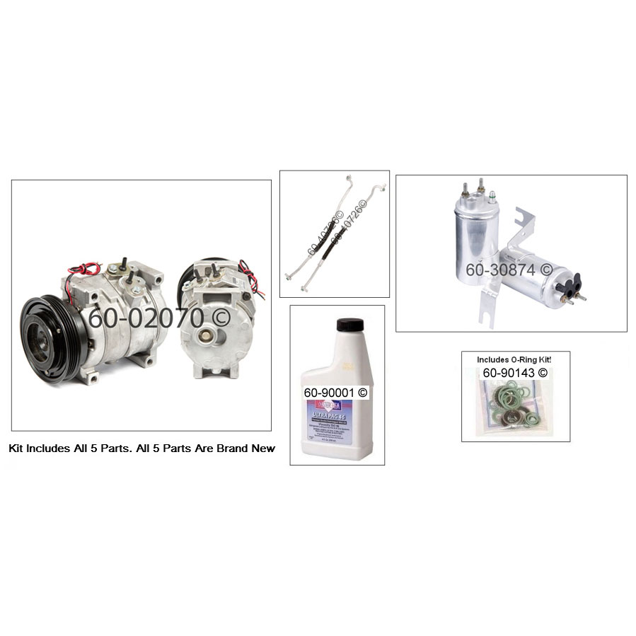 Chrysler PT Cruiser A/C Compressor and Components Kit