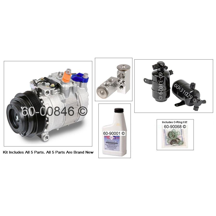 Mercedes benz slk230 ac compressor and components kit for Mercedes benz slk230 parts