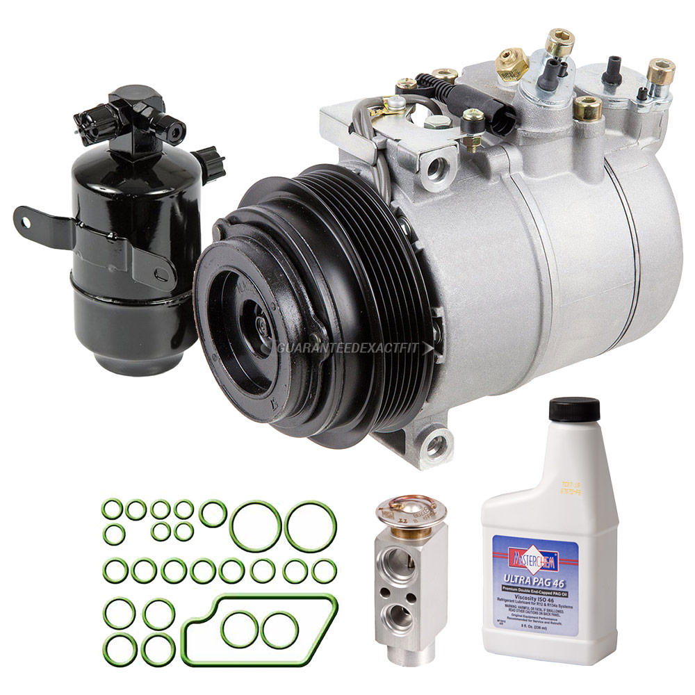 Mercedes Benz SLK320 A/C Compressor and Components Kit