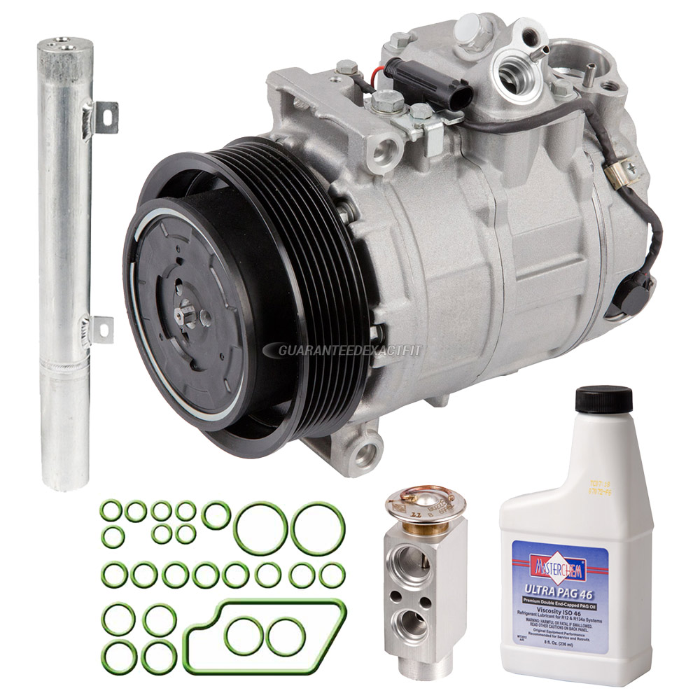 2003 Mercedes Benz C230 A/C Compressor and Components Kit
