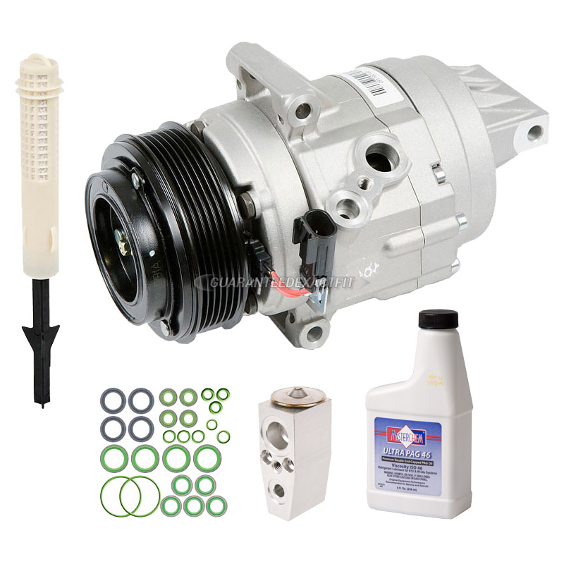 2010 ford fusion a c compressor and components kit 3 5l engine 60 81408 rn. Black Bedroom Furniture Sets. Home Design Ideas
