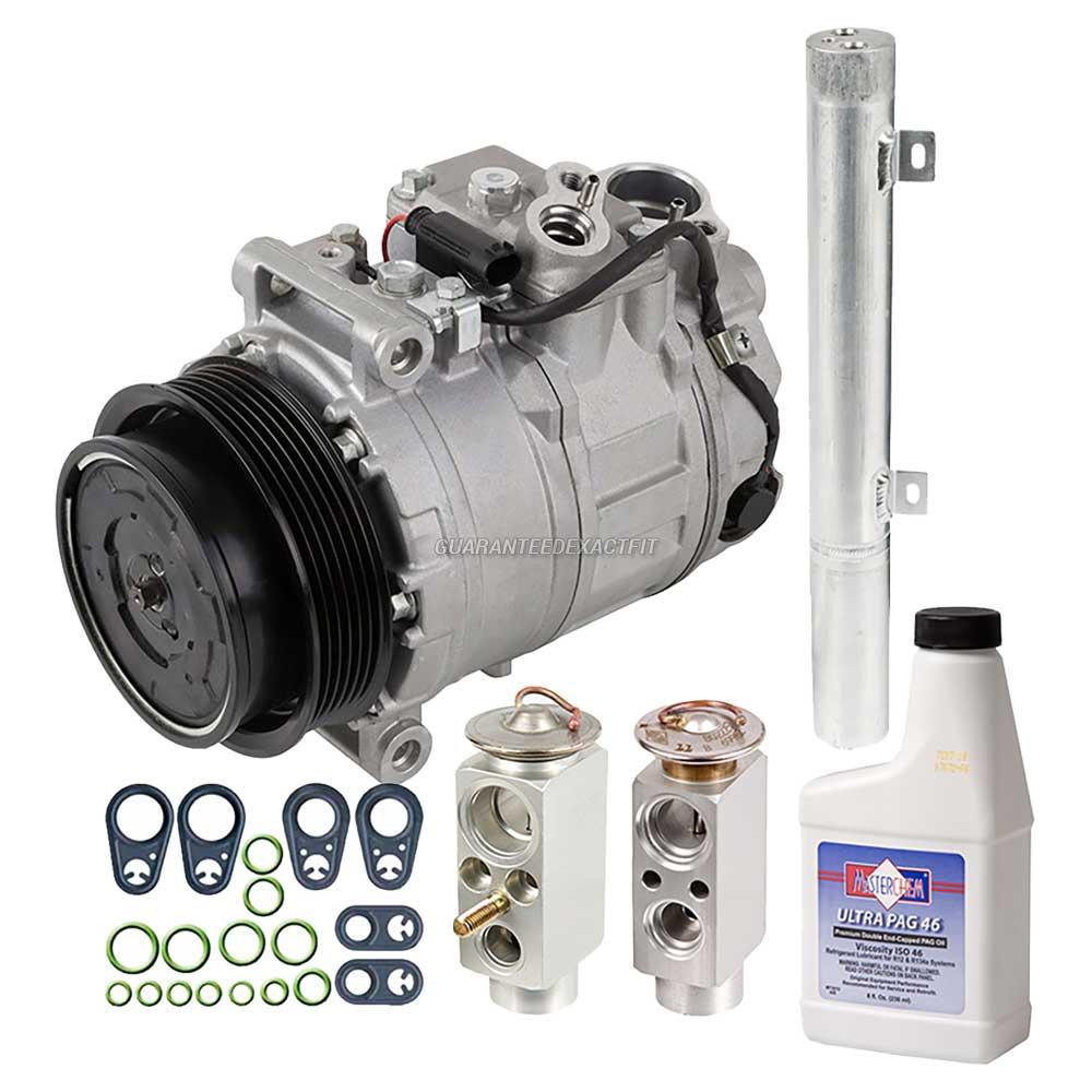2006 Mercedes Benz C230 A C Compressor And Components Kit