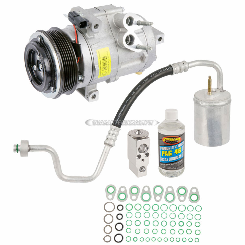 Lincoln MKS A/C Compressor and Components Kit