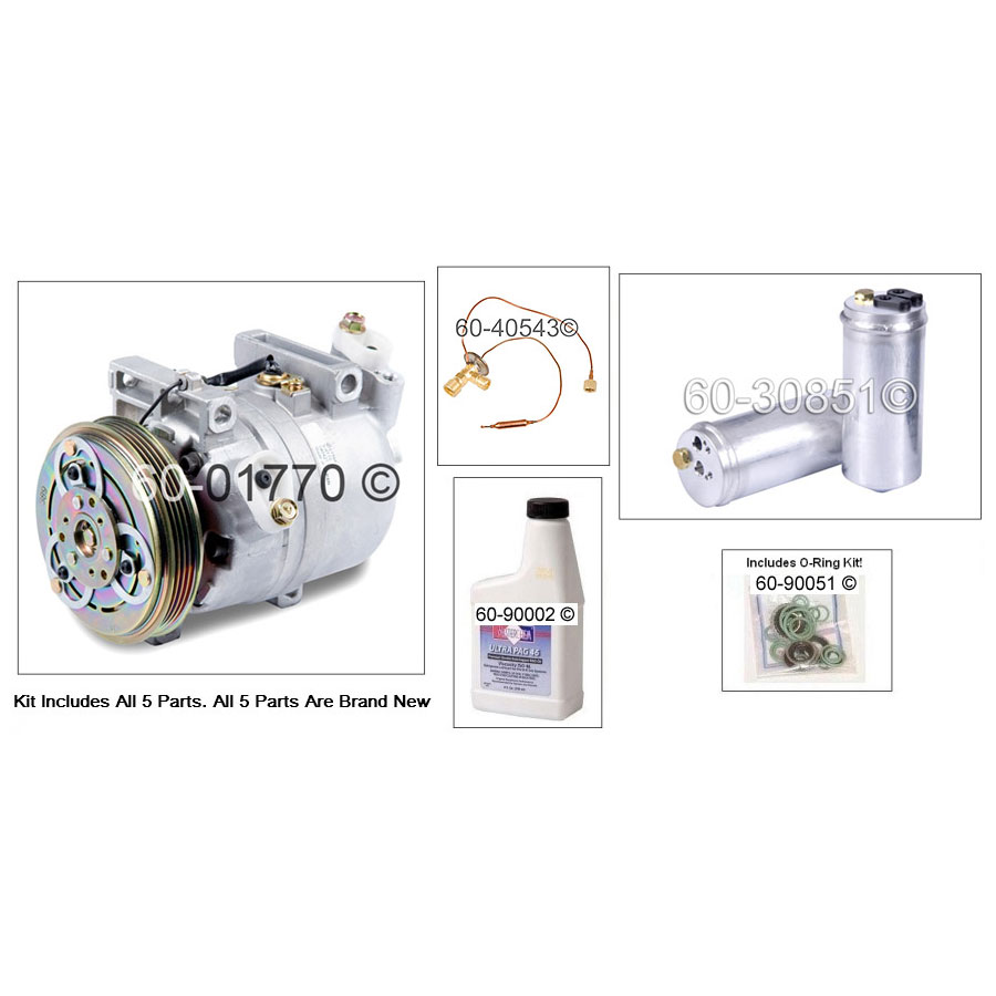 A/C Compressor and Components Kit 60-81434 RK