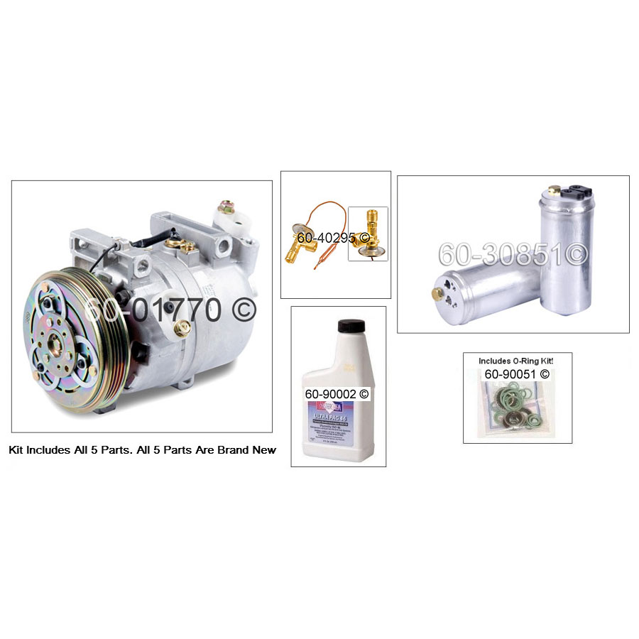 A/C Compressor and Components Kit 60-81435 RK