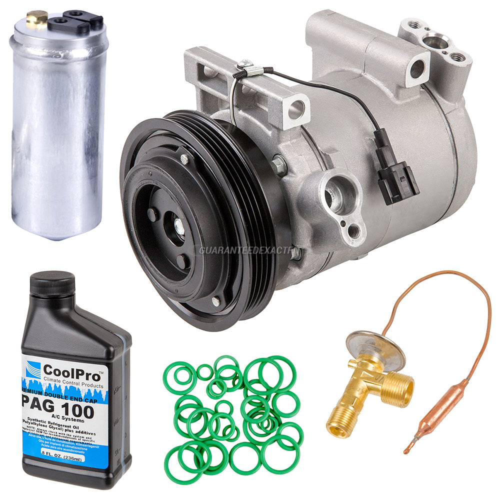 2000 Nissan Altima A/C Compressor and Components Kit