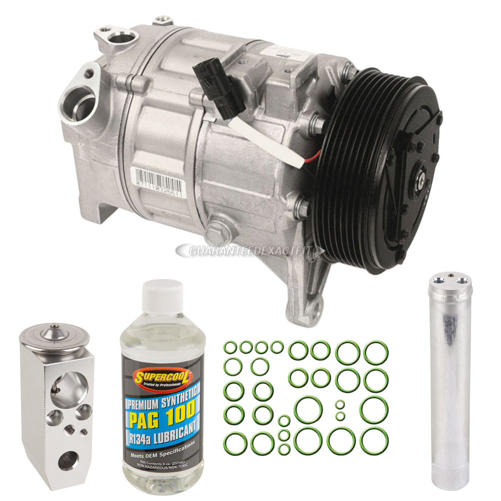 BuyAutoParts 60-81438RN A/C Compressor and Components Kit