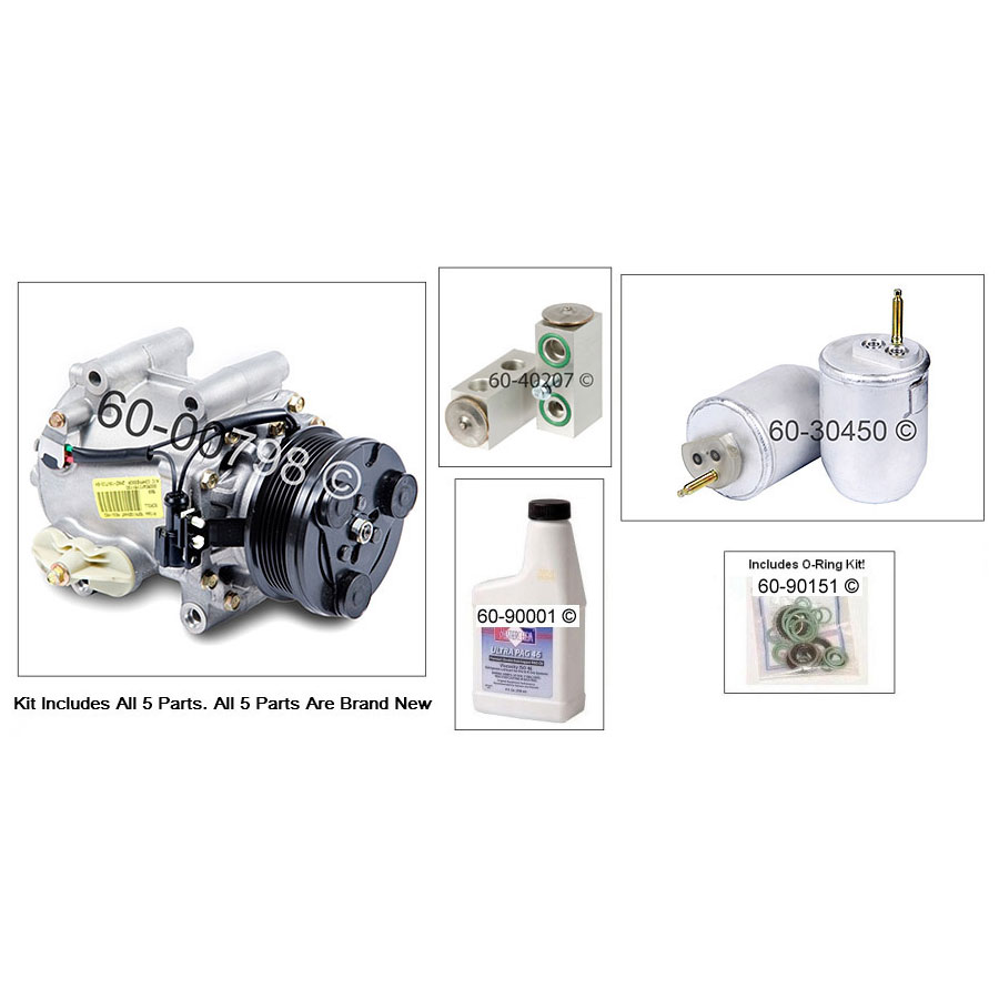 Ford Thunderbird A/C Compressor and Components Kit