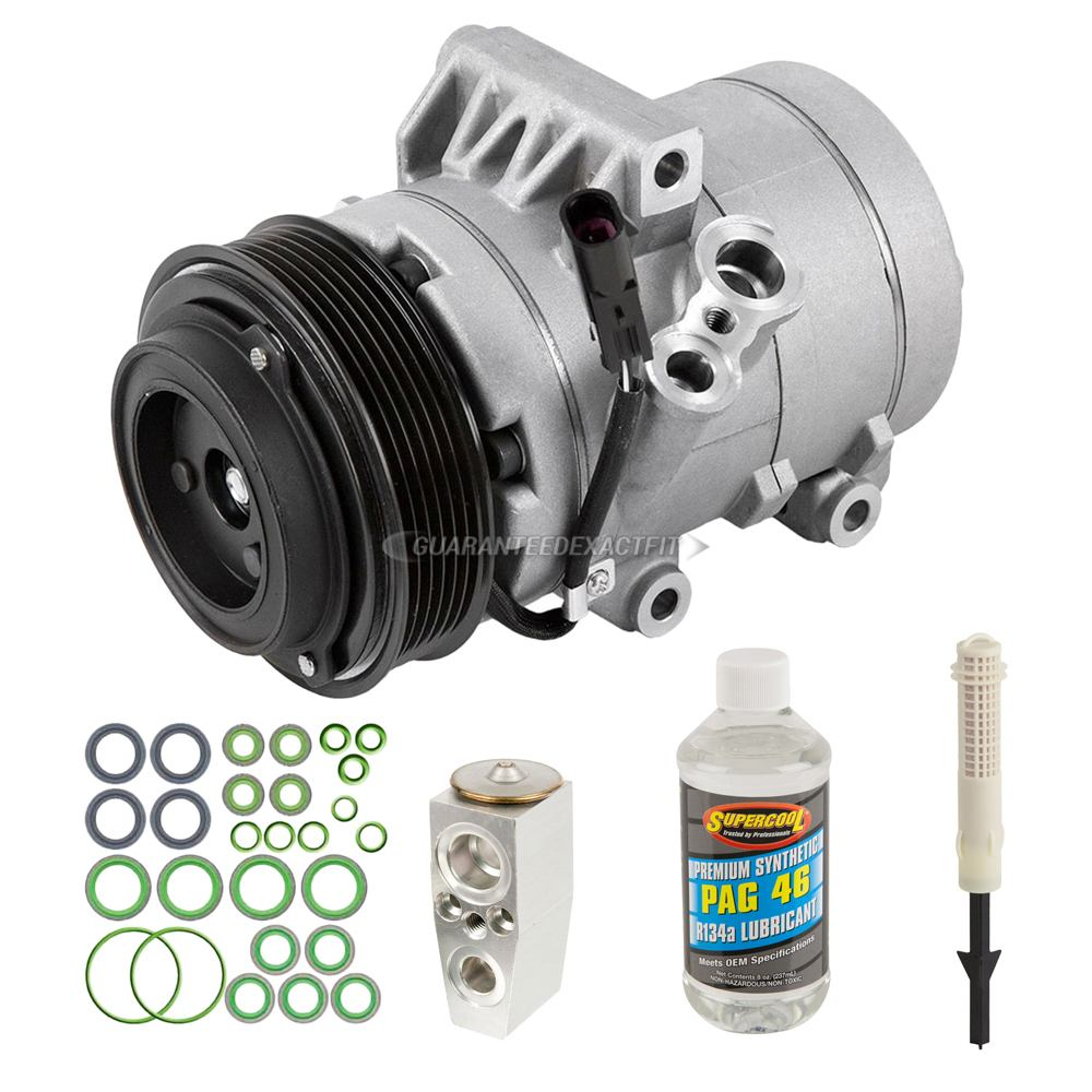 Lincoln Zephyr A/C Compressor and Components Kit