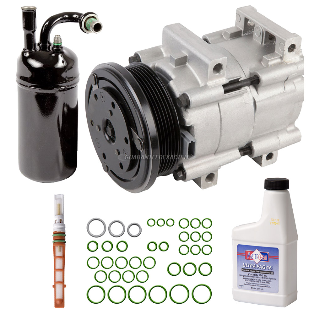 1997 Ford Escort A/C Compressor and Components Kit