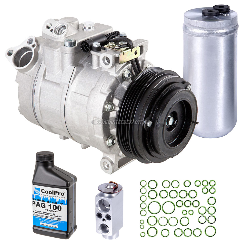 2004 BMW X3 A/C Compressor and Components Kit