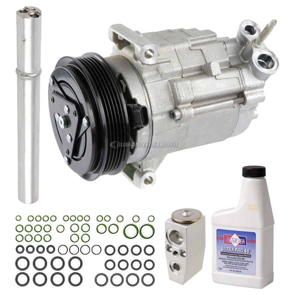 2010 Chevrolet Equinox A C pressor and ponents Kit 2