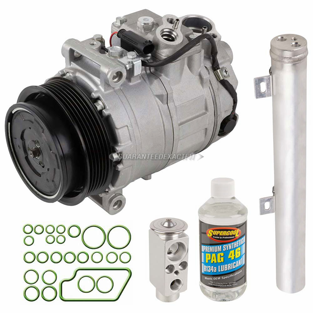 Mercedes Benz CLK63 AMG A/C Compressor and Components Kit