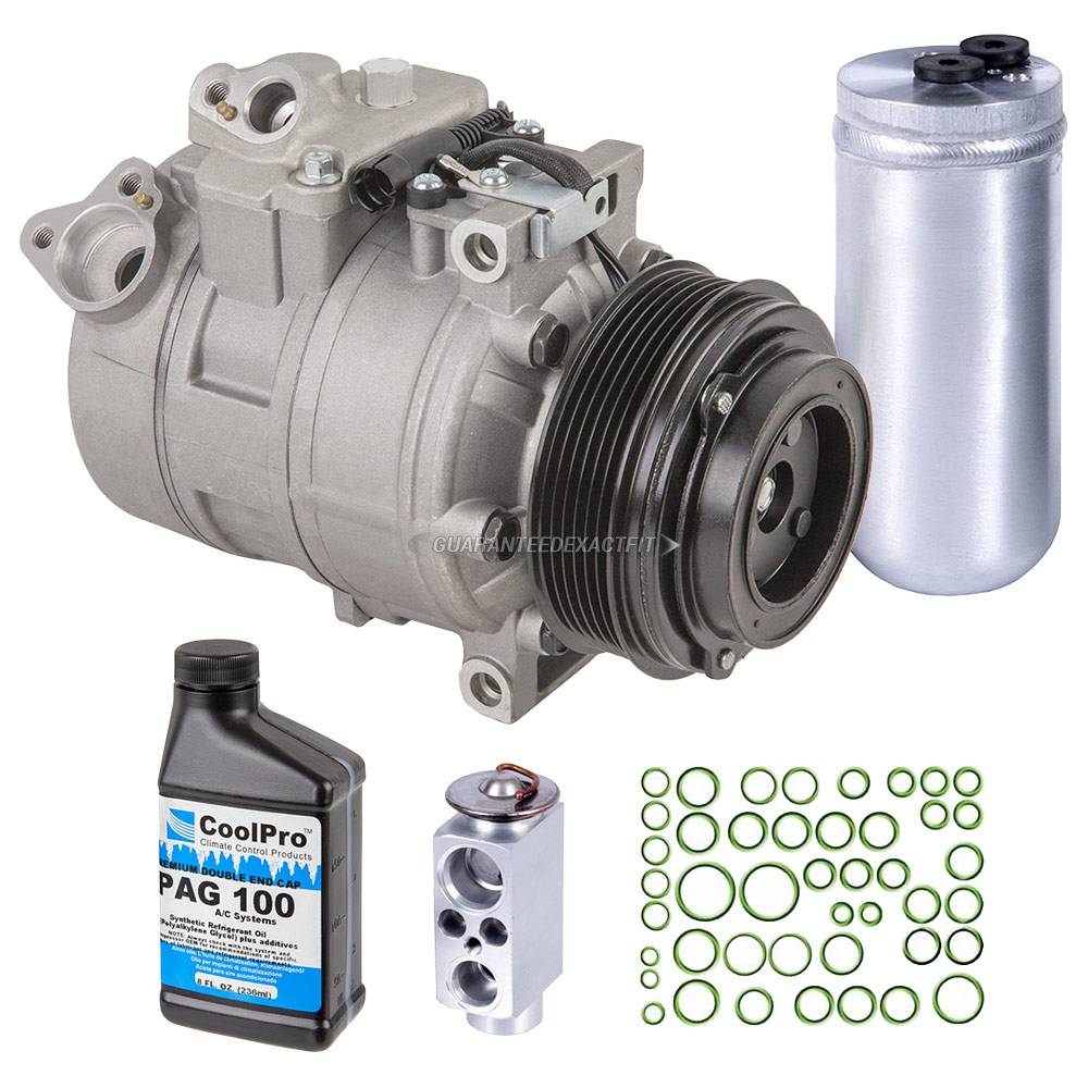 2007 BMW X3 A/C Compressor and Components Kit