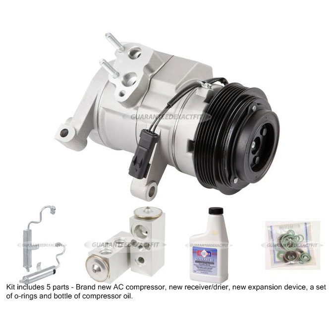 Jeep Commander A/C Compressor and Components Kit