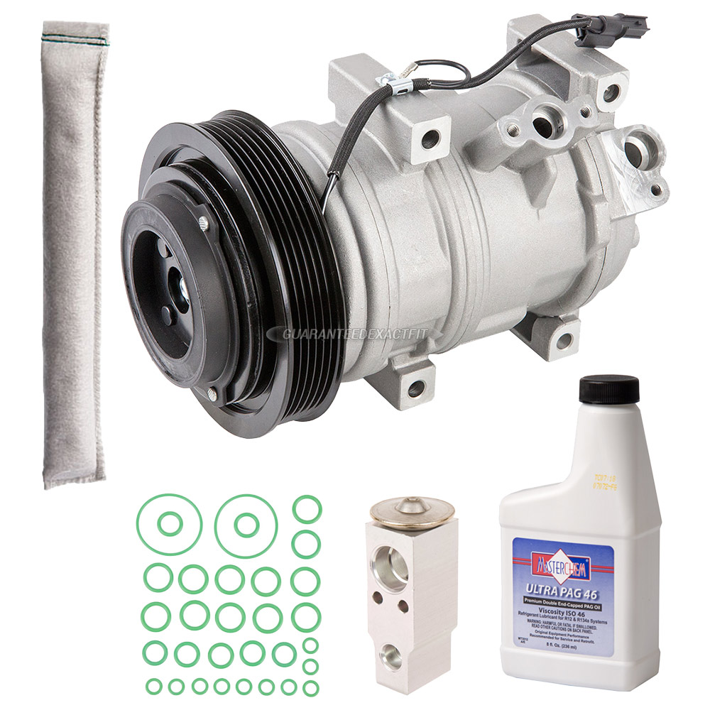 AC Compressor And Components Kits For Acura MDX Honda Ridgeline And - 2003 acura mdx ac compressor