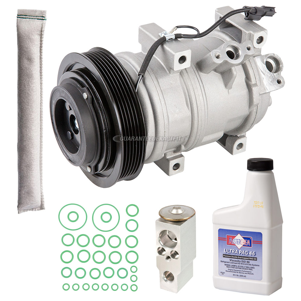 Acura ZDX AC Compressor And Components Kit Parts, View