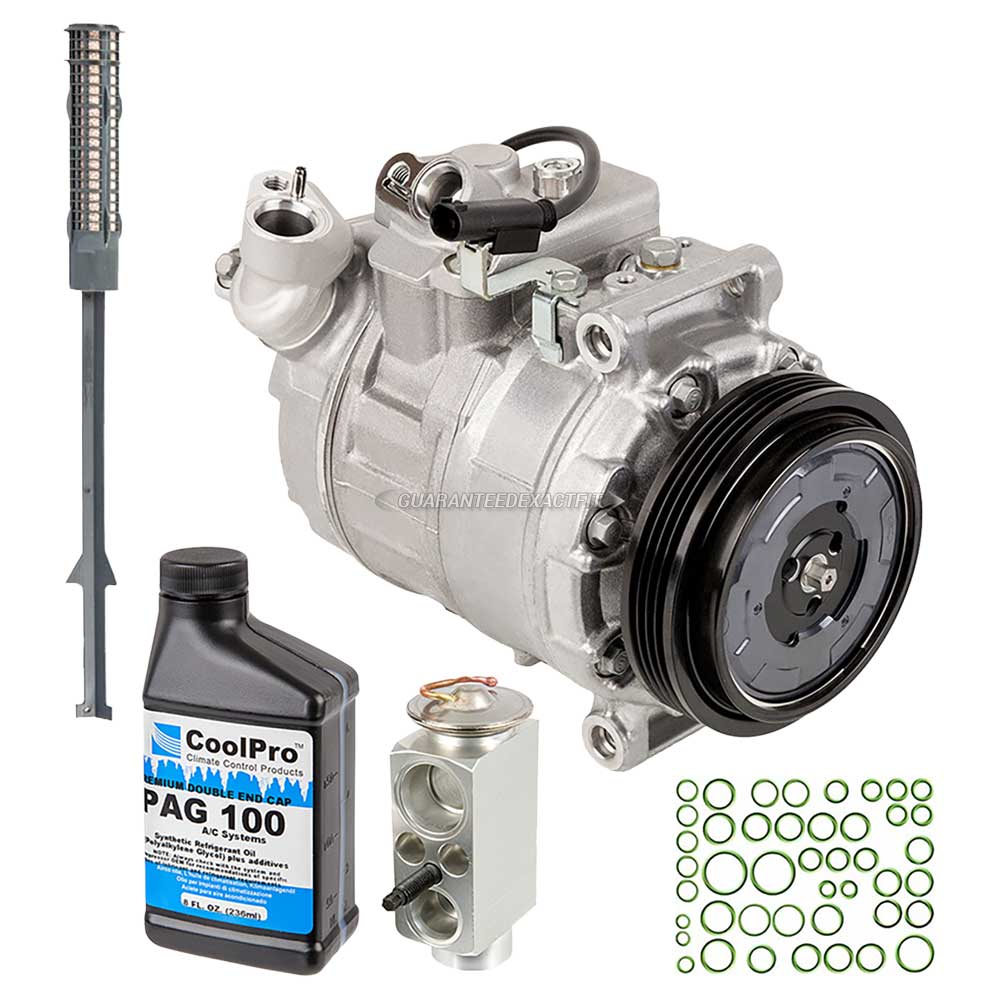 BMW 645Ci A/C Compressor and Components Kit