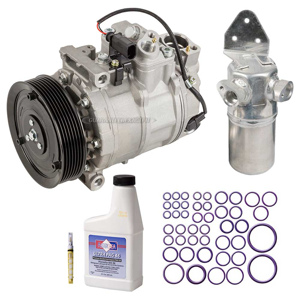 Audi A8 Engine Fuel Diagram Ac Compressor And Components Kits For 2004 2006 42l A C Kit