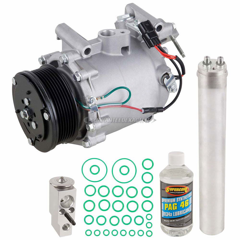 2007 Honda Civic A/C Compressor and Components Kit 2.0L ...