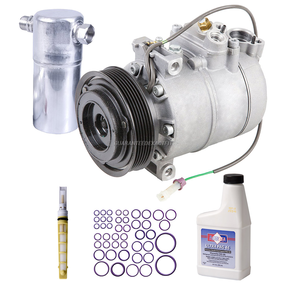 2001 Audi S4 A/C Compressor and Components Kit
