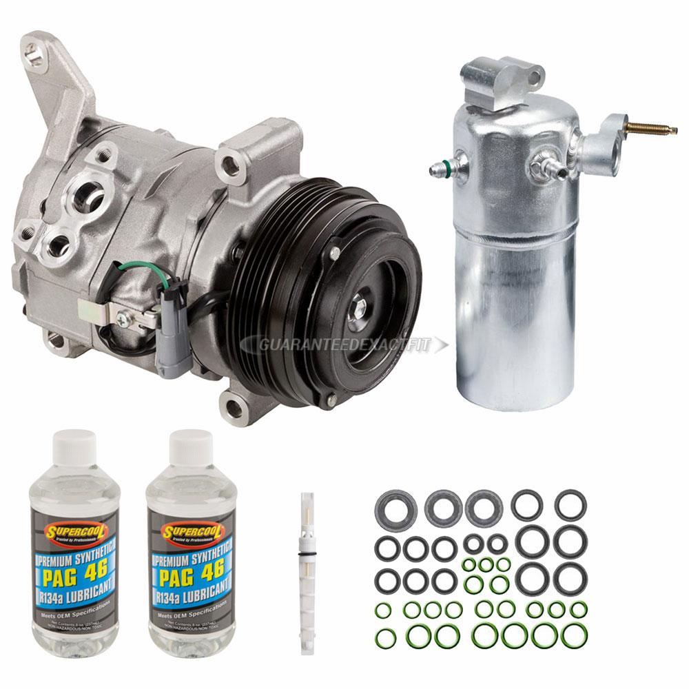 2013 GMC Savana Van A/C Compressor And Components Kit 4.8L