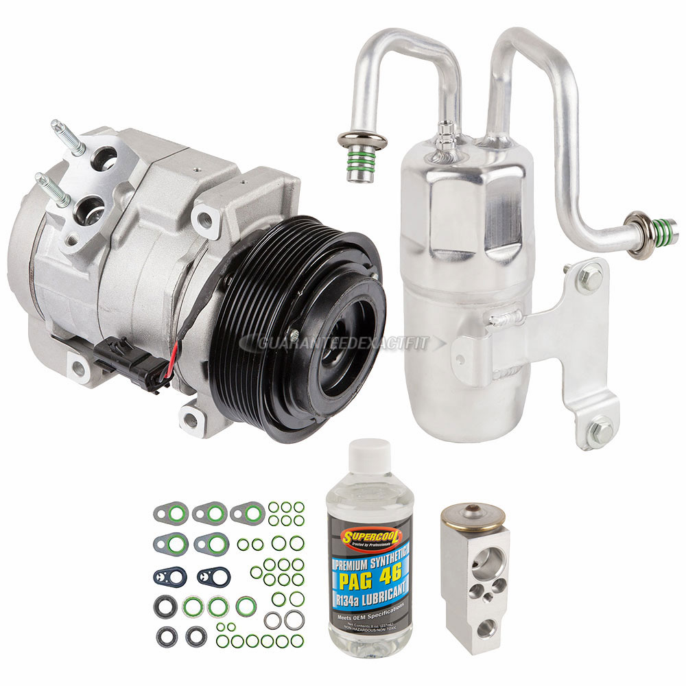 Ac Compressor And Components Kits For Dodge Pick Up Truck 2010 2011 2012 Ram Oil Pump A C Kit