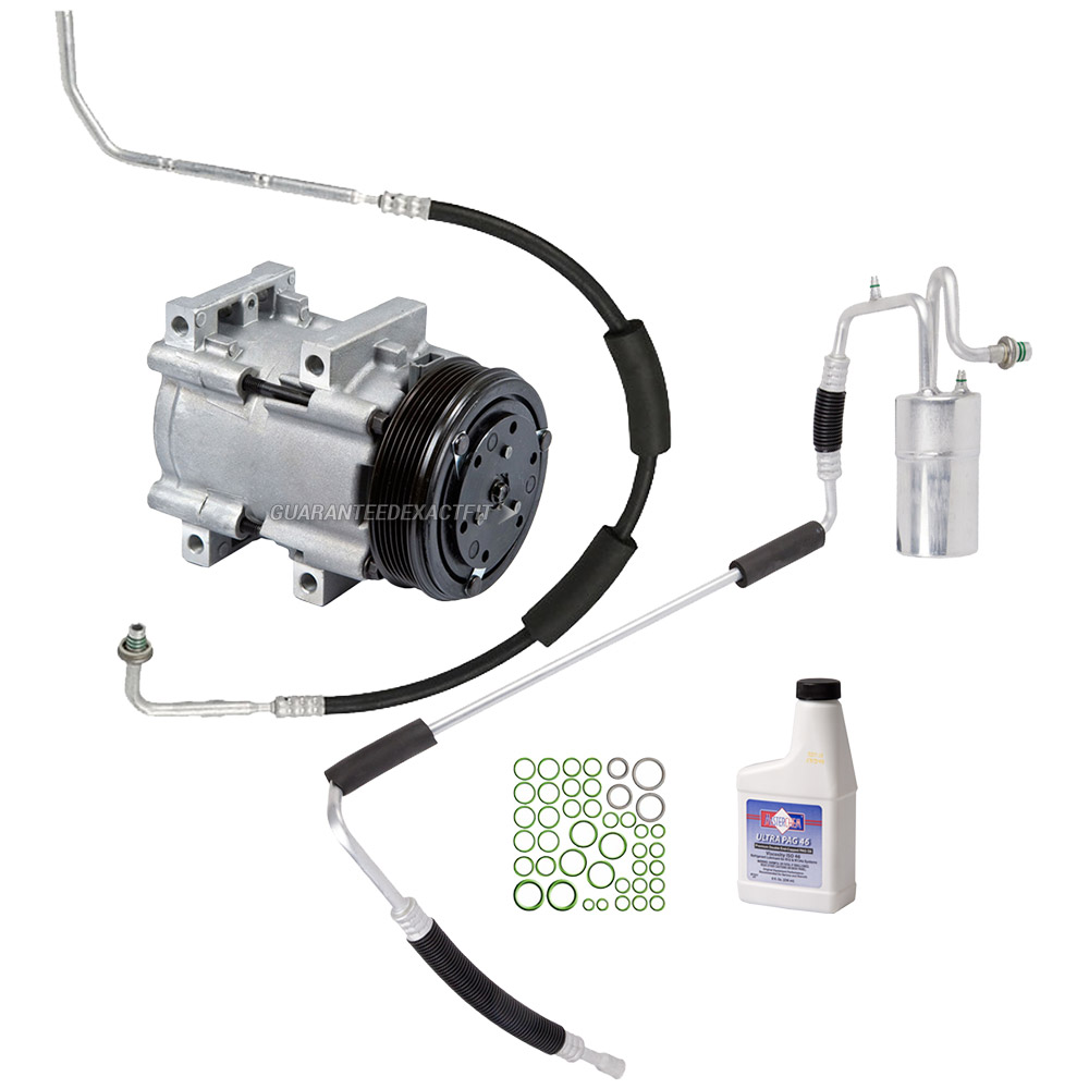 Mercury Sable A/C Compressor and Components Kit
