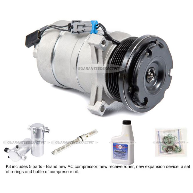 Chevrolet Van A/C Compressor and Components Kit