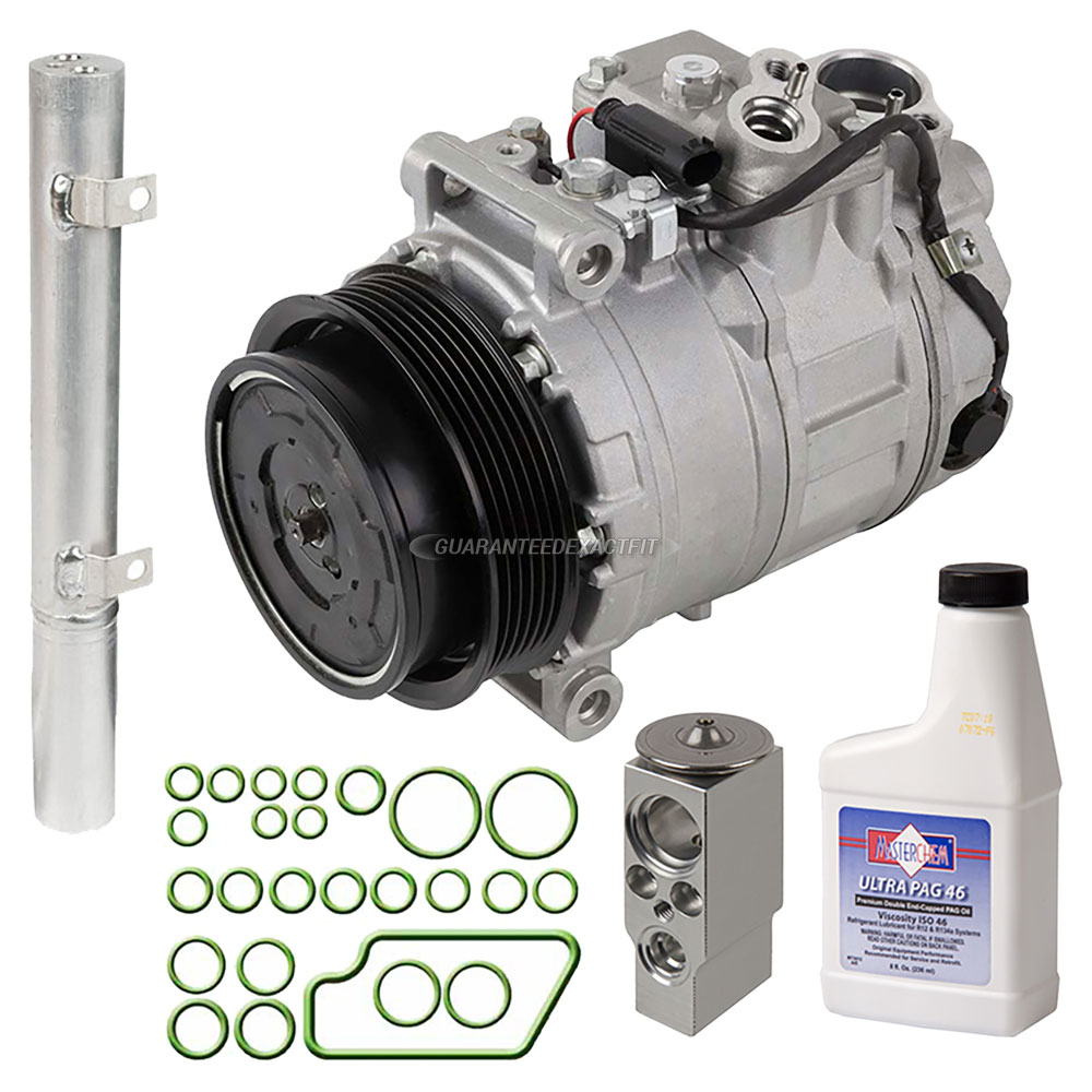 Mercedes Benz R63 AMG A/C Compressor and Components Kit