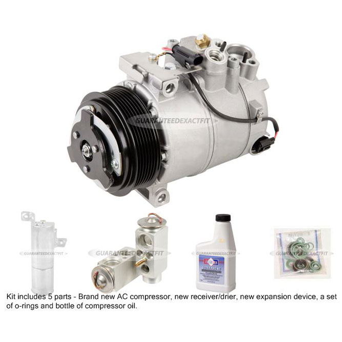 Mercedes Benz CL63 AMG A/C Compressor and Components Kit