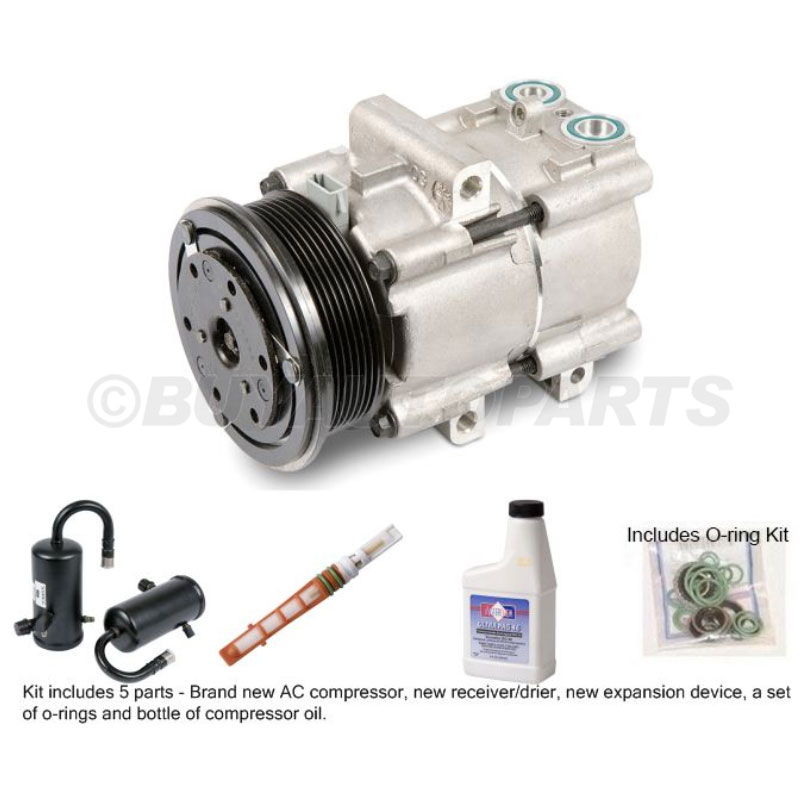 Lincoln Towncar A/C Compressor and Components Kit