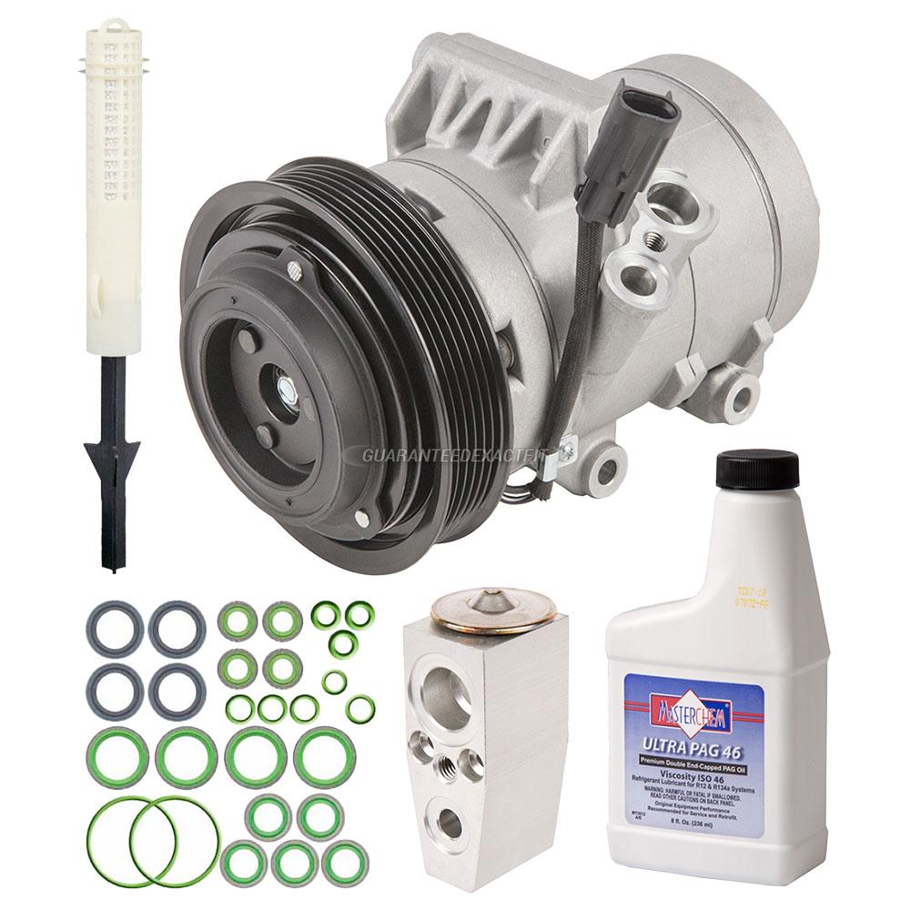 2010 Mercury Milan A/C Compressor And Components Kit 2.5L