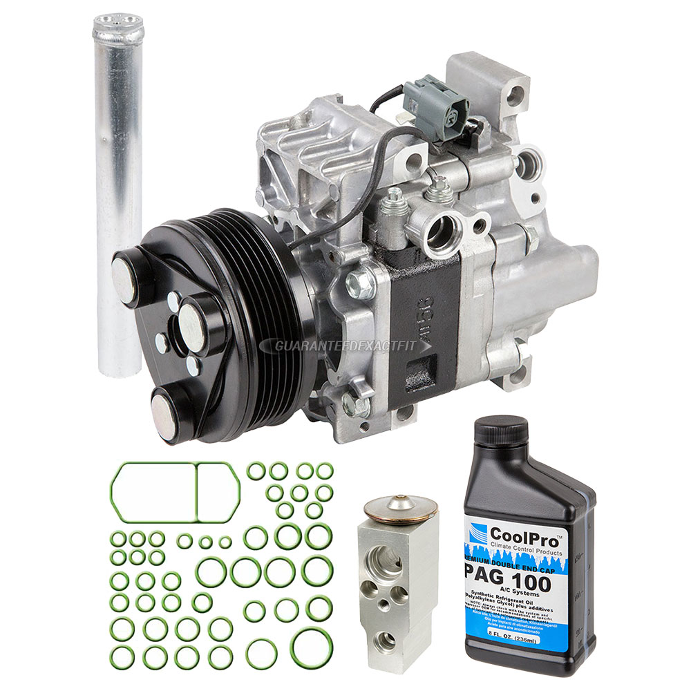 2008 Mazda CX-7 A/C Compressor And Components Kit All