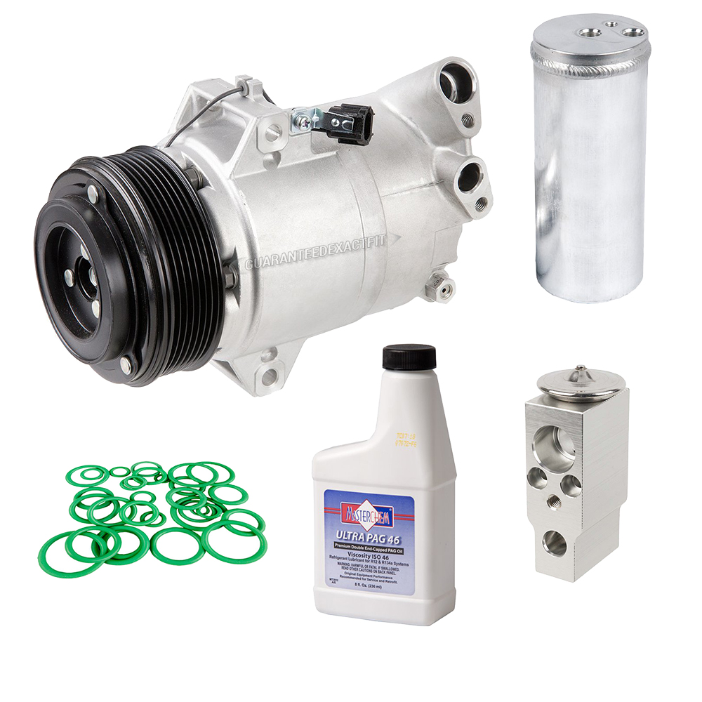 2007 Nissan Pathfinder A/C Compressor and Components Kit
